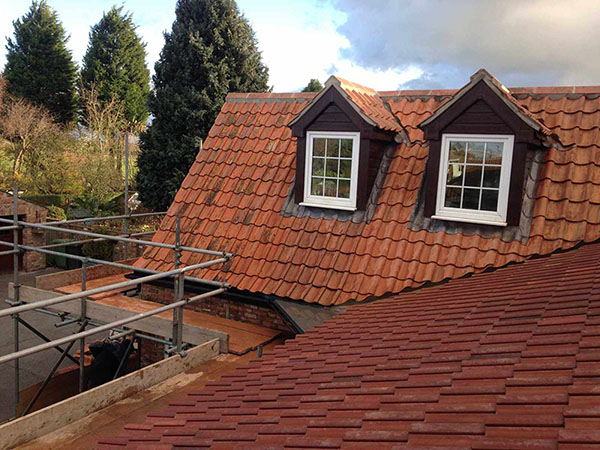 Pantile Re-roof in York