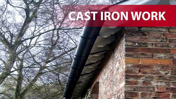 Traditional Cast Iron Guttering and Fittings