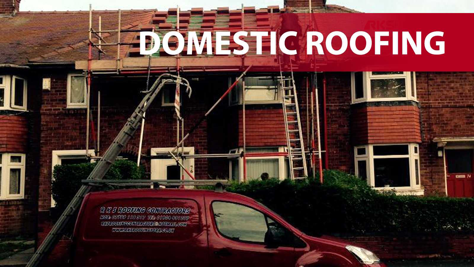 Domestic roofing in York
