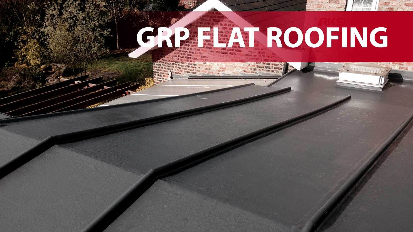 GRP Flat Roofing in York
